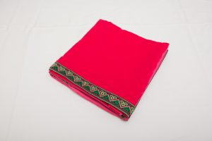 "Bridge Cloth - Fuchsia Pink velvet  (1.07m/42"" square - £70)"