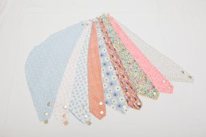 Bibs - Cotton lines with jersey/brushed/towelling cotton (3-12 months £8)