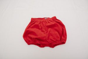 Bloomers - Red Cotton Corduroy (3 months to 2 years £18-£22)