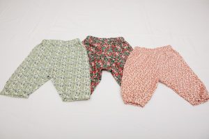 Trousers - Liberty needcord and cotton/wool mix (6 months to 2 years £20-£25)