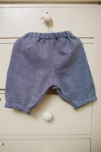 Trousers - Tweed (blue/white herringbone wool mix) (6 months - 2 years £20-£25)