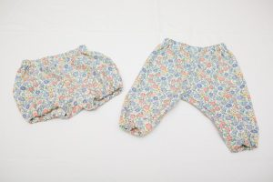 Bloomers/Trousers - Liberty jubilee (wool/cotton) floral (3 months - 2 years £22-£25)