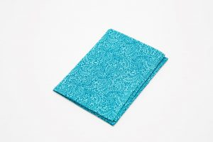 Handkerchief - Liberty tana lawn Foliage turquoise (45cm/30cm square - large £9/medium £6)