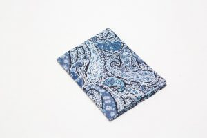 Handkerchief - Liberty tana lawn Bourton blue (45cm/30cm square - large £9/medium £6)