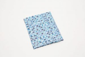 Handkerchief - Liberty tana lawn Chess blue (45cm/30cm square - large £9/medium £6)