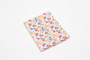Handkerchief - Liberty tana lawn Floral yellow (45cm/30cm square - large £9/medium £6)