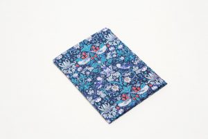 Handkerchief - Liberty tana lawn Strawberry Thief Blue (45cm/30cm square - large £9/medium £6)