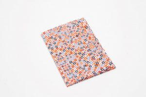 Handkerchief - Liberty tana lawn Chess orange (45cm/30cm square - large £9/medium £6)