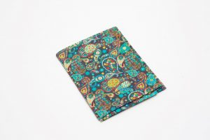 Handkerchief - Liberty tana lawn Paisley Bright (45cm/30cm square - large £9/medium £6)