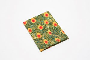 Handkerchief - Liberty tana lawn Peacock orange (45cm/30cm square - large £9/medium £6)