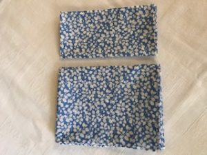 Liberty tana lawn Glenjade ski blue £9 and £6 (45/30cm sq)
