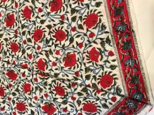 Indian cotton tablecloths to order from £25