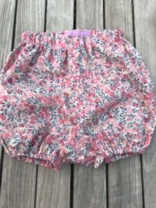 Bloomers Liberty tana lawn wiltshire berry - size S (approx 3-6mths) - £25